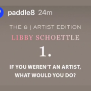 Paddle8 Interviews PhoebeNewYork on Instagram