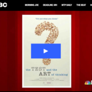Morning Joe talks The Test & the Art of Thinking